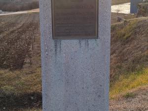Spominsko obeležje na info točki Vrhovlje pri Kojskem