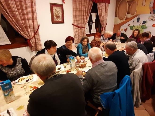 Novoletna večirja članov OZVVS Brda