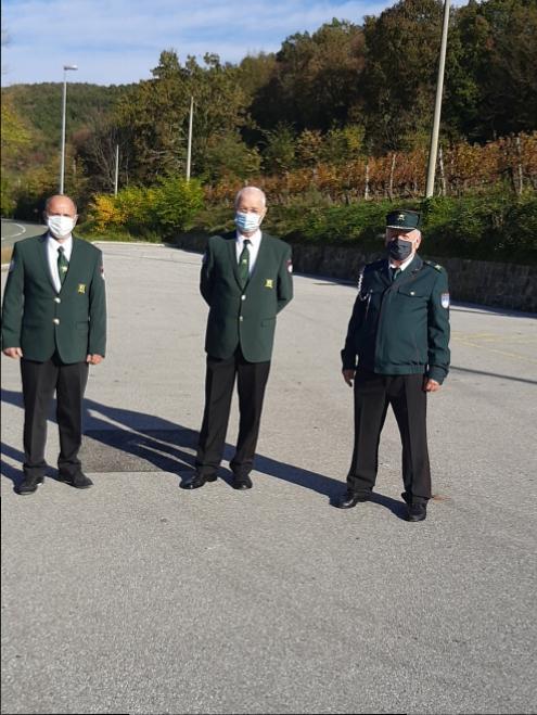 Delegacija OZVVS Brda je obiskala grobove preminulih članov naše organizacije. Adrijan Rožič,Jože Abramič in Milenko Srebernič