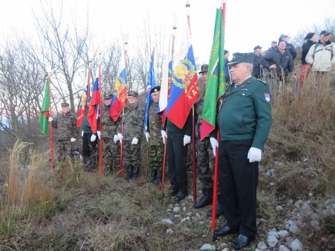 26.12.2014 - Sabotin dvig zastave