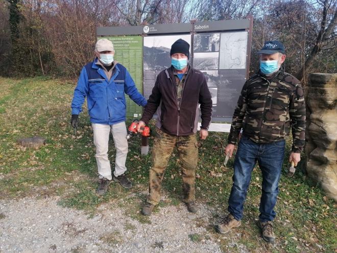 Jadran Bajt,Zlatko Lipicer in Franko Simčič